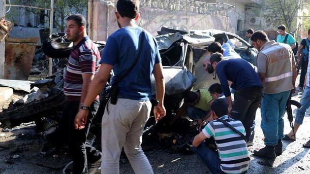 Вибух в Сирії
