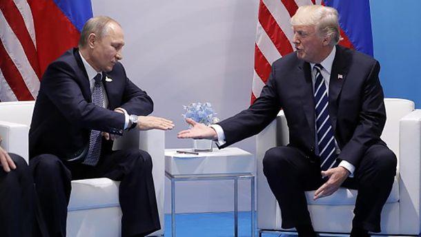 Трамп зробив заяву щодо запрошення Путіна у Білий дім