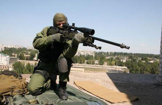 Российские снайперы появились в районе Донецка