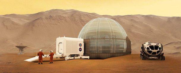 NASA: Відправити людину наМарс неможливо