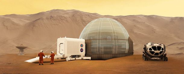 Унас нет денежных средств для отправки людей наМарс