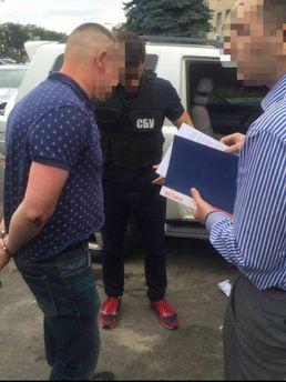 СБУ передала озадержании русского агента 14июля 2017 16:11