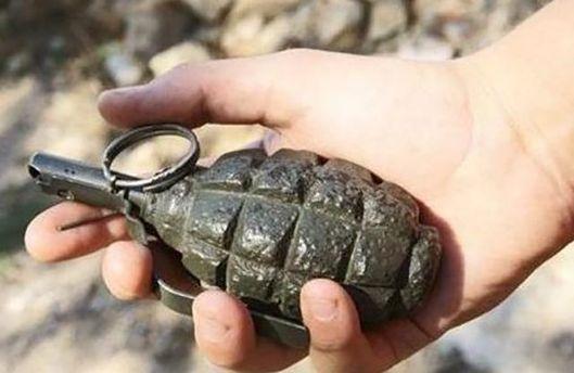 В Києві діти знайшли гранату