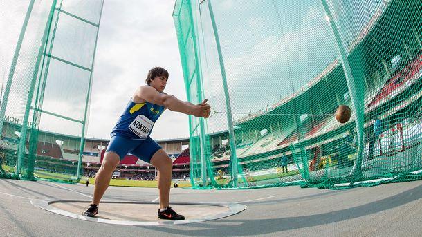 Михайло Кохан на Чемпіонаті світу з легкої атлетики U-18