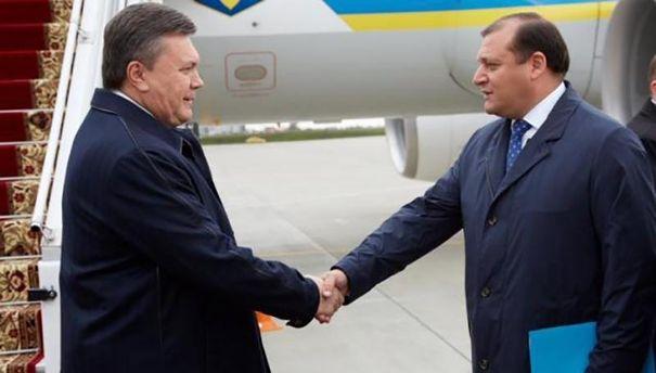 Виктор Янукович и Михаил Добкин