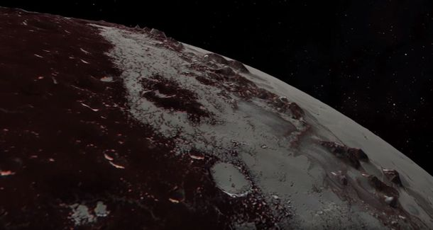 Рельєф планети Плутон