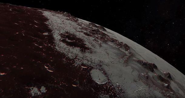 НАСА показало облет Плутона зондом New Horizons