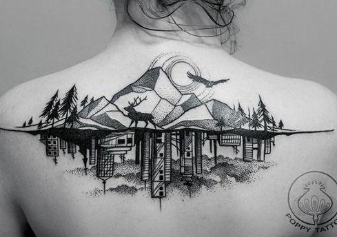 10 неймовірних татуювань, яким позаздрять архітектори: фото