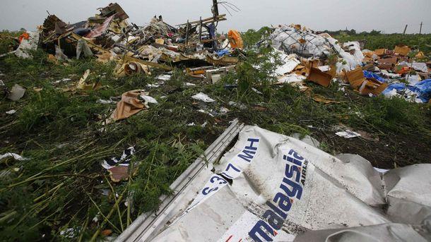 Сбитие Boeing 777 возле Донецка