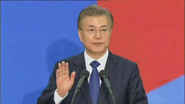 Лидер Южной Кореи Мун Джеин