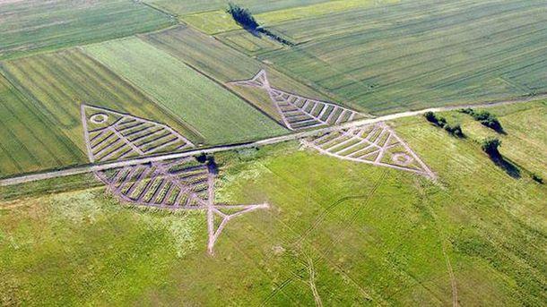 Арт-ленд на украинско-польской границе