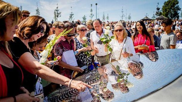 У Нідерландах відкрили Меморіал пам'яті жертв MH-17