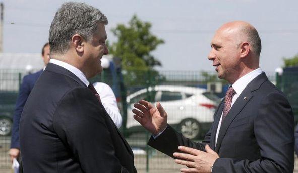 Порошенко встретился с премьер-министром Молдовы