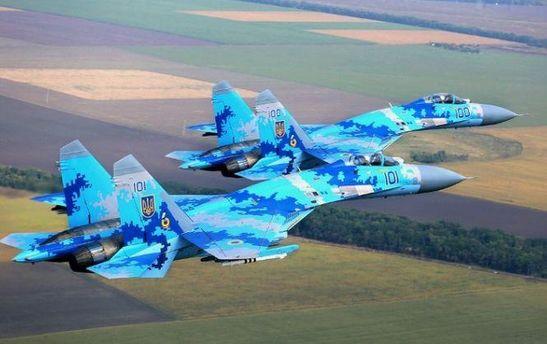 Украинские истребители показали невероятные виражи на авиашоу в Великобритании