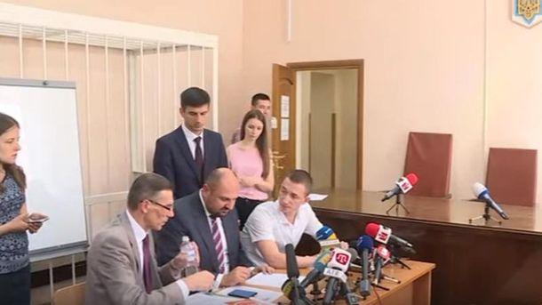 Суд избирает меру пресечения Бориславу Розенблату