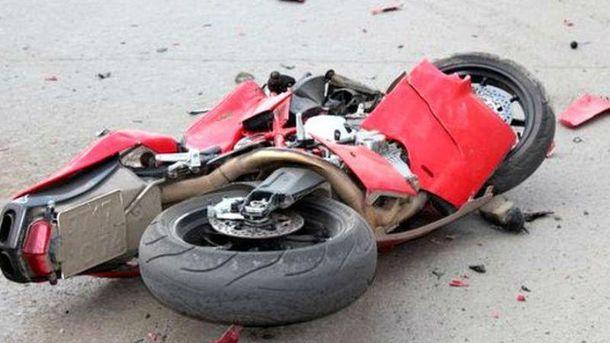 Авария с участием мотоцикла