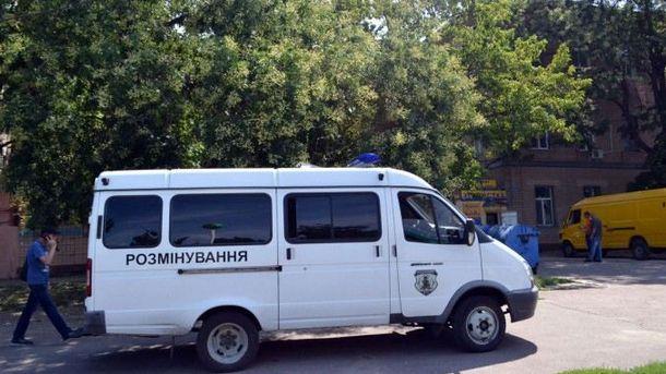 На месте взрыва гранаты в Одессе