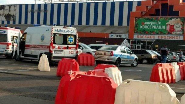 Смерть на автостоянке