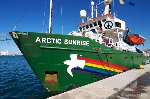 Судно Greenpeace
