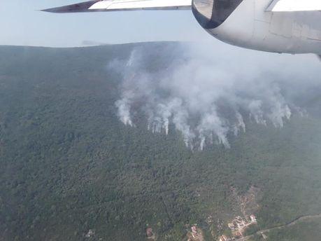 Пожары в Черногории