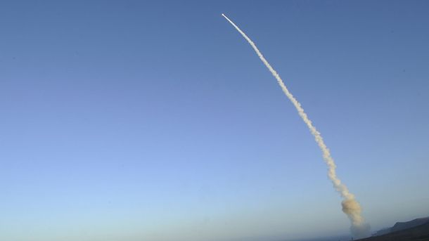 Запуск балістичної ракети (Ілюстрація)