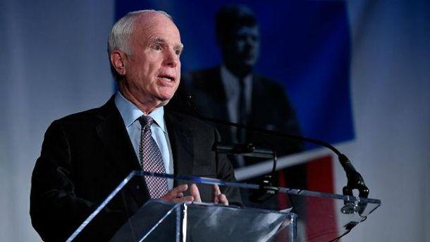 Вамериканського сенатора Маккейна діагностували злоякісну пухлину