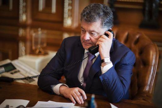 Петро Порошенко візьме участь у телефонних переговорах