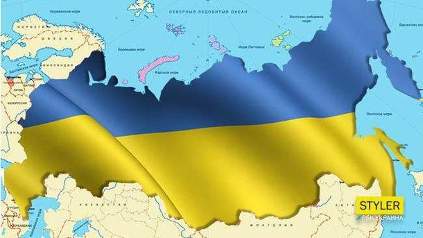 Кіпіані показав у Канаді карту, на якій замість Росії велика Україна