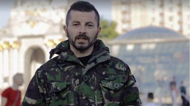 Джузеппе воюющий на стороне Украины