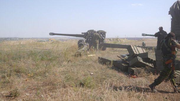 Обстріл з боку терористів Донбасу (ілюстрація)