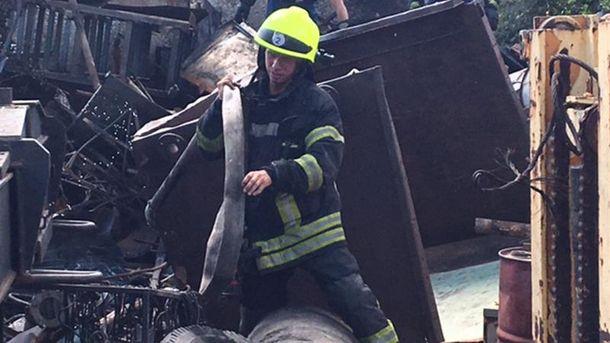 Взрыв в Днепре (фото с места событий)