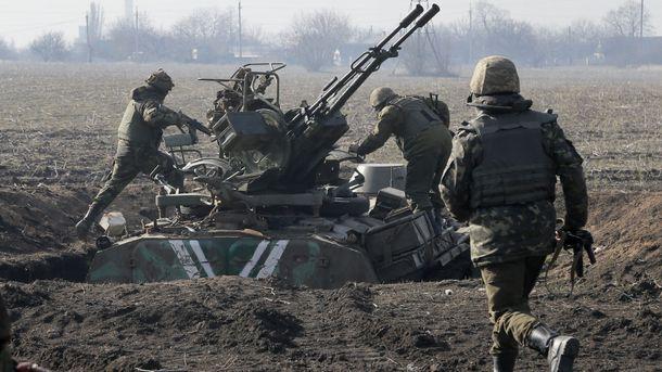 Война на Донбассе (иллюстрация)
