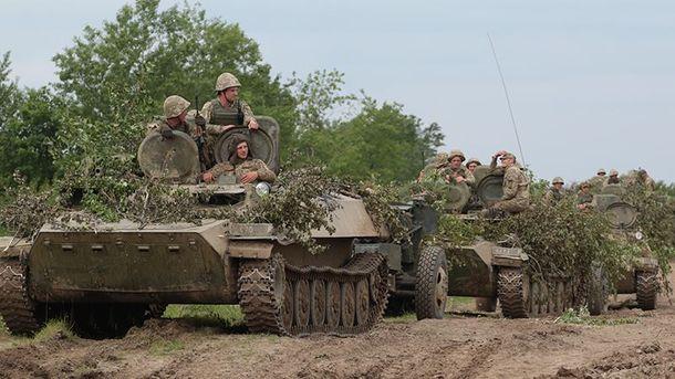 ВУкраинском государстве вовремя взрыва инженерного боеприпаса пострадало восемь солдат
