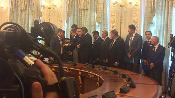 Голова Держприкордонслужби знепритомнів під час зустрічі президентів України та Білорусі