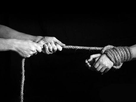 Торговля людьми (иллюстрация)