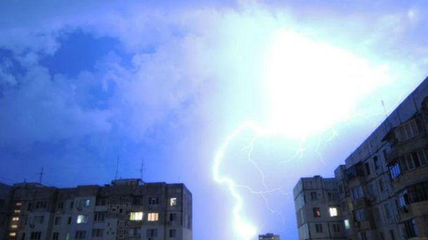 22 июля в Украине штормовое предупреждение