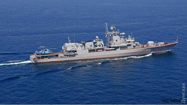 Российский разведывательный корабль