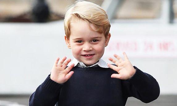 Принцу Джорджу – 4 года: рождение и жизнь в фотографиях