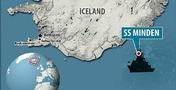 Біля берегів Ісландії виявили 4 тонни золота нацистів