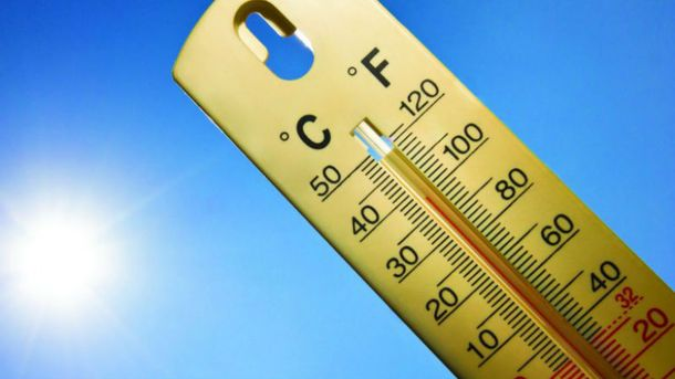 Температурный рекорд в Киеве