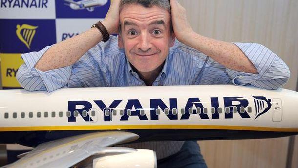 Ryanair знижує ціни на квитки