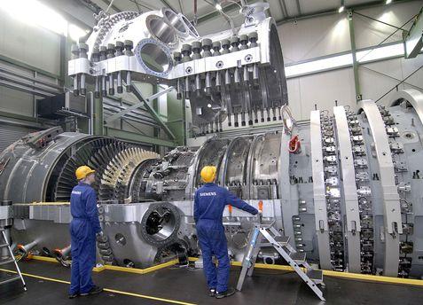 Санкції через турбіни Siemens