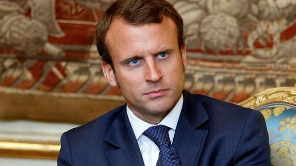 Президент Франції Еммануель Макрон