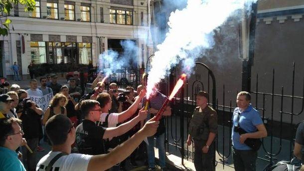 Акция протеста за освобождение Маркива