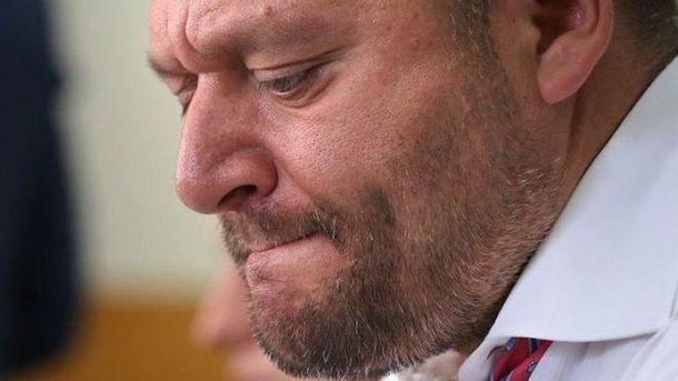 Добкін подав апеляцію на рішення суду про запобіжний захід