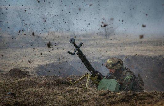 Одного українського військового поранено взоні АТО в п'ятницю