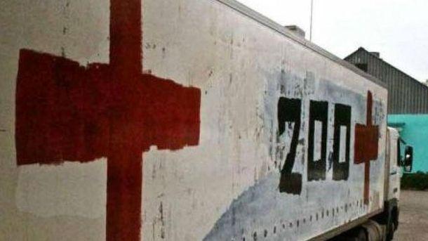 Росія доставила на Донбас похоронні фургони