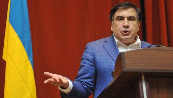 «Порошенко переступил черту». Саакашвили обещает остаться вгосударстве Украина