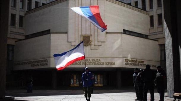 Россия оккупировала украинский Крым в марте 2014-го