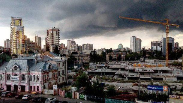 Негода в Києві 27 липня
